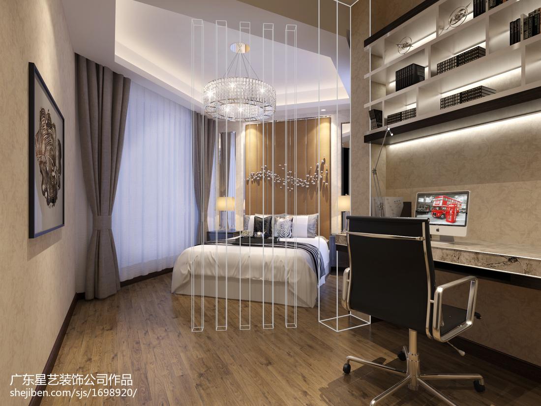 中式小户型卧室欣赏图片大全