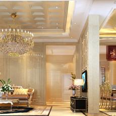 2018精选117平米现代别墅客厅装修设计效果图片大全