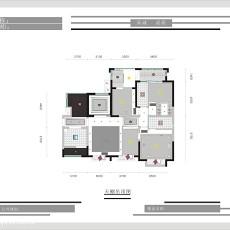2018精选143平米四居客厅现代装饰图片大全