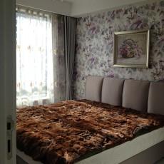 精选大小75平欧式二居卧室欣赏图片