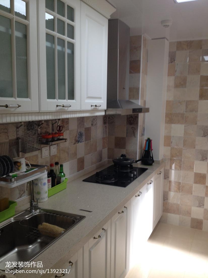 热门二居厨房欧式装修欣赏图片