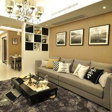 精选面积75平现代二居客厅装修设计效果图