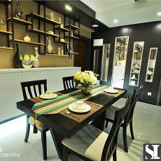 精美105平米三居餐厅现代装修设计效果图片大全