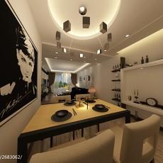 精选104平米三居餐厅现代装饰图片大全