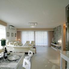 热门122平米现代复式客厅装修图片大全