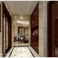 热门92平米三居玄关欧式装修设计效果图片欣赏