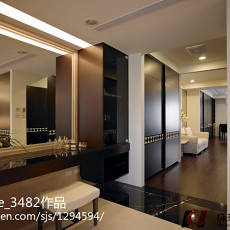 精美90平米三居卫生间欧式装修图片欣赏