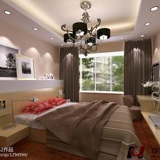 热门97平方三居卧室欧式装修设计效果图