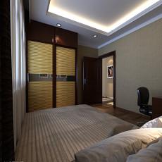 精选大小108平现代三居卧室装修设计效果图