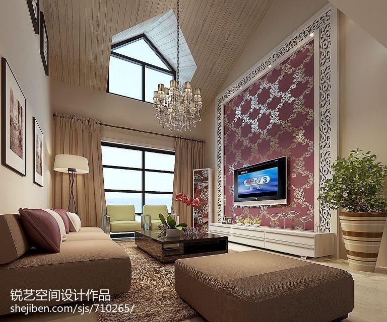 精选73平米现代小户型客厅装饰图片欣赏