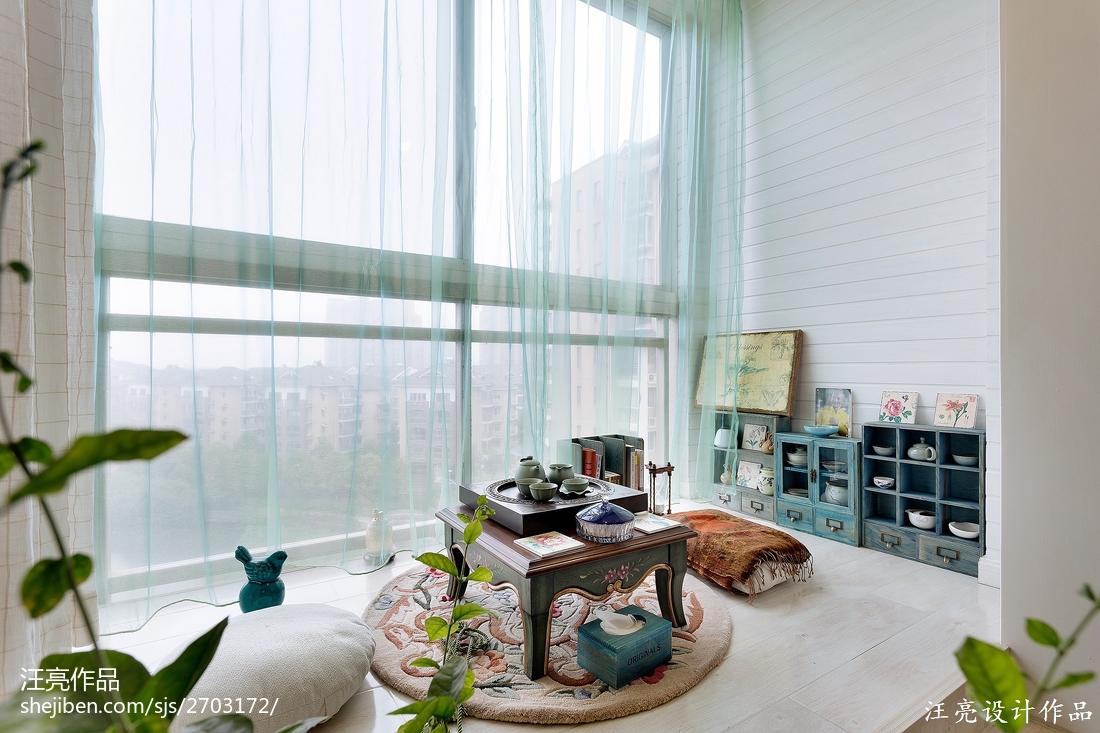 精选四居客厅地中海装修效果图片欣赏