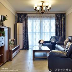 109平米三居客厅新古典装修效果图片大全