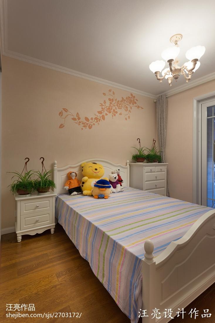 127平米地中海复式儿童房实景图