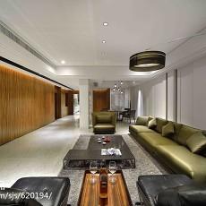 精选面积131平复式客厅现代装修效果图