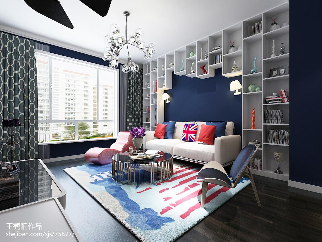 客厅沙发后背墙装饰效果图