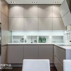 极简的现代风厨房室内装修设计图片