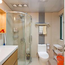 精美面积103平现代三居卫生间设计效果图