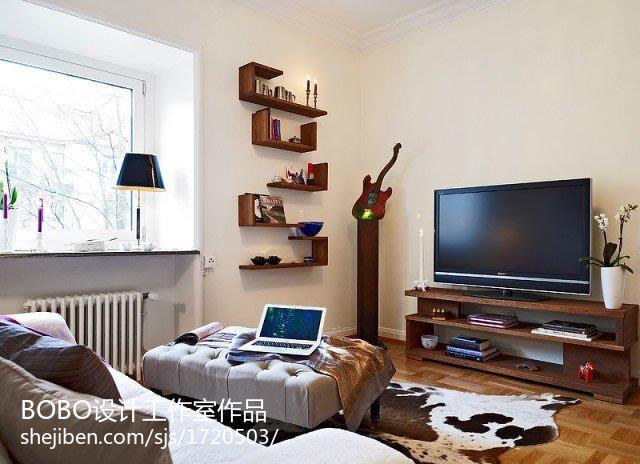 热门小户型客厅现代装修实景图片大全