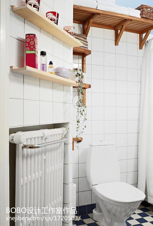 201889平米现代小户型卫生间装修设计效果图