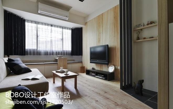 精美面积88平小户型客厅现代装修欣赏图