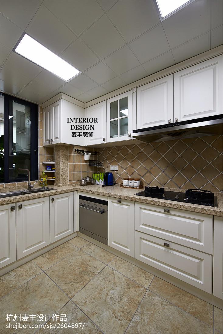 简约美式厨房人造大理石图片
