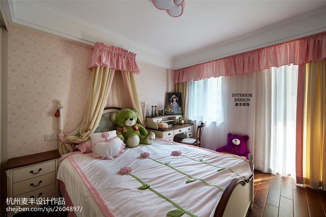 简约美式儿童房空间装饰效果图