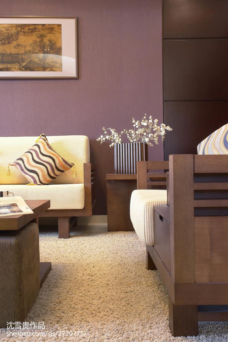 精选面积99平中式三居客厅装修设计效果图