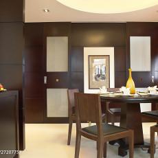 90平米三居餐厅中式装修图片大全