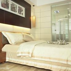 面积102平中式三居卧室欣赏图