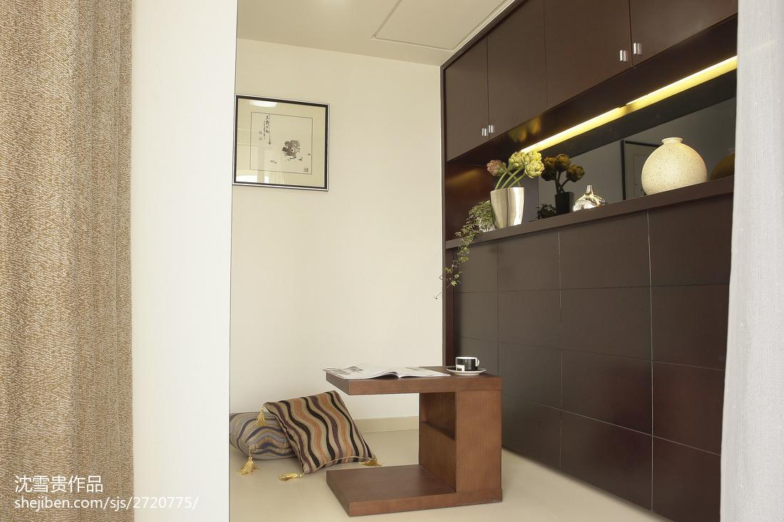 精美90平米三居休闲区中式装修实景图片欣赏