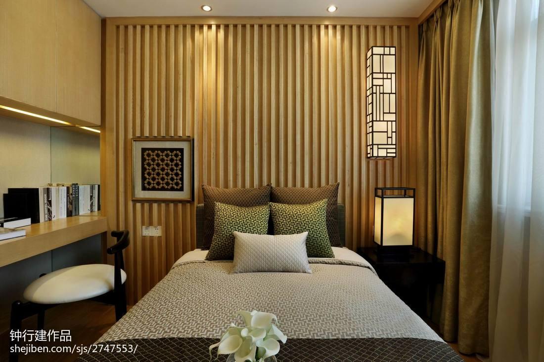 精美中式卧室装修图片欣赏