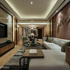 中式客厅装修欣赏图