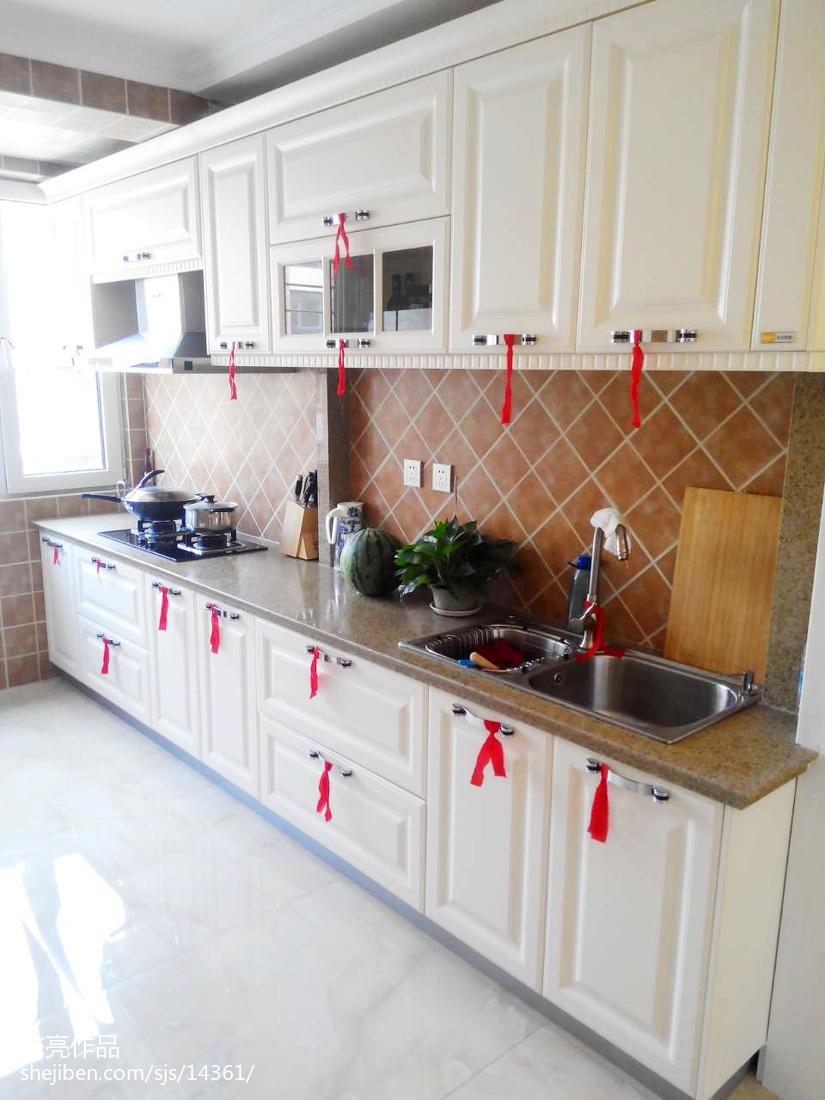 欧式厨房改造效果图