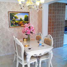 108平米三居餐厅欧式装修欣赏图片大全