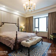 精美面积97平欧式三居卧室装修效果图