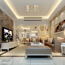 精美别墅客厅现代装修效果图片