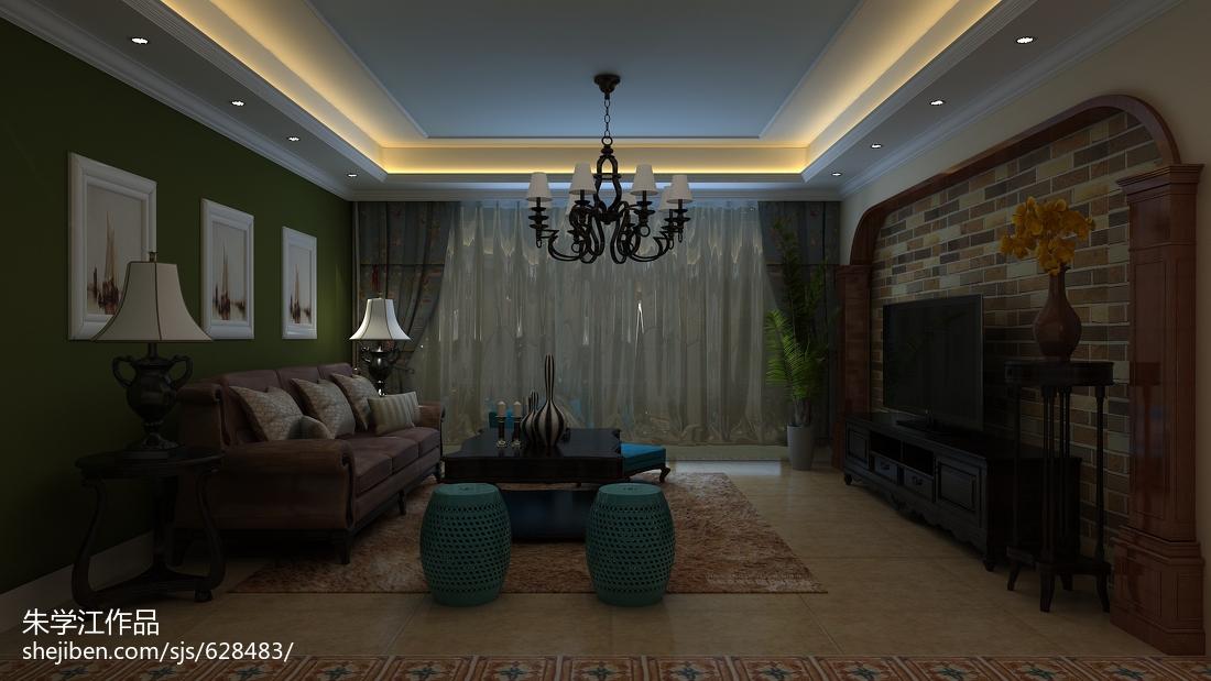 大客厅简单吊顶装修效果图