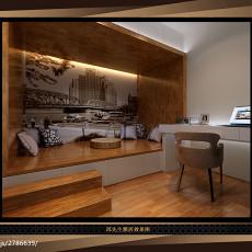 精美现代二居书房装修实景图片