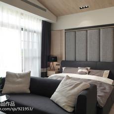 2018面积127平别墅卧室现代装修设计效果图