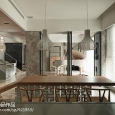 精选115平米现代别墅餐厅装修欣赏图片大全