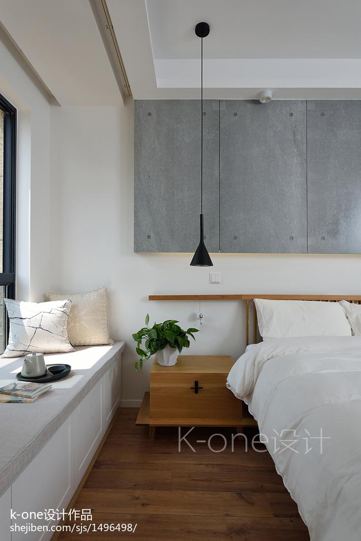 現代簡約臥室吊頂