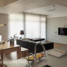 精选面积89平小户型客厅现代效果图