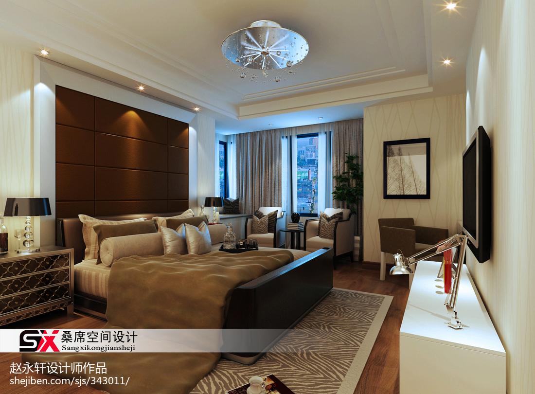 热门面积127平现代四居客厅效果图片欣赏