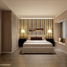 2018136平米现代复式卧室装修实景图片大全