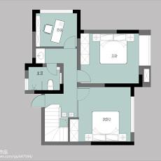 精选133平米现代复式客厅实景图片