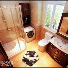 精选125平米四居卫生间欧式装修欣赏图片大全