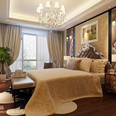 2018大小98平欧式三居卧室效果图片大全