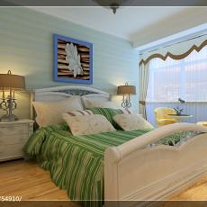 2018大小90平现代三居卧室装修实景图片大全