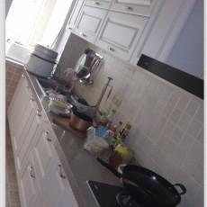 面积141平欧式四居厨房实景图片欣赏