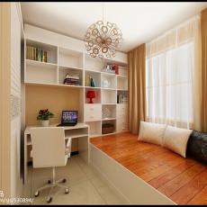 热门88平方二居卧室现代装修图片